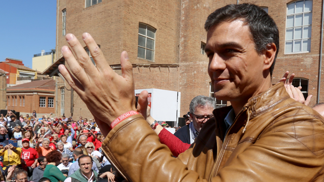Pedro Sánchez exhibeix múscul a Barcelona amb referències al catalanisme no rupturista