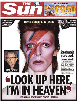La última foto de David Bowie