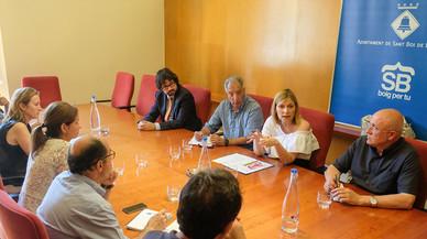 Cuatro ayuntamientos catalanes reclaman a Fomento reabrir el acceso a Sant Boi desde la C-245