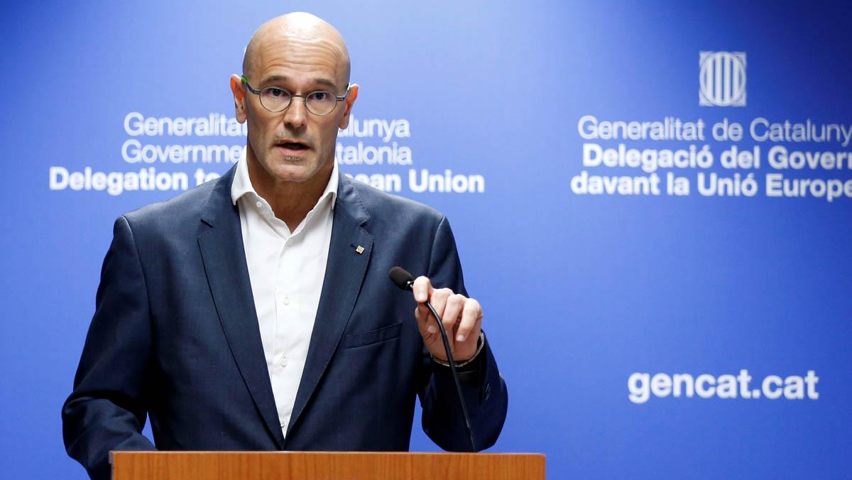 """Romeva acusa el Govern central d'estar aplicant el 155 """"per la porta del darrere"""""""