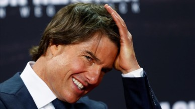 Tom Cruise, el viernes en Berl�n, en la promoci�n de 'Jack Reacher. Never go back'.