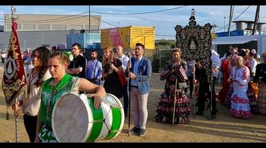 L'alcaldessa de Rubí dona suport a la Germandat de la ciutat al Rocío