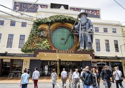 Todo listo para el preestreno mundial de 'El Hobbit'