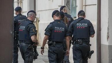 La difícil situación de los mossos