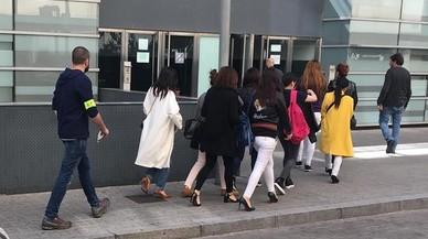 Alliberades 21 dones explotades sexualment a Barcelona