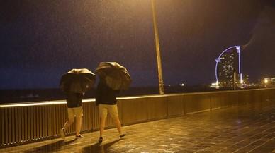 Arriben a Catalunya pluges i un descens de les temperatures