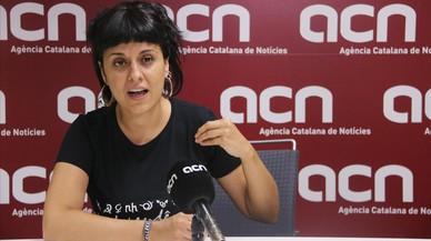 """Anna Gabriel: """"L'11-S hauríem de sortir al carrer amb la llei del referèndum aprovada"""""""