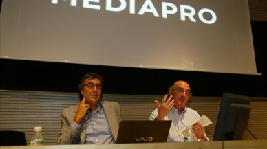 Tatxo Benet (izquierda) y Jaume Roures.