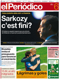 Portada de 'El Peridico de Catalunya'