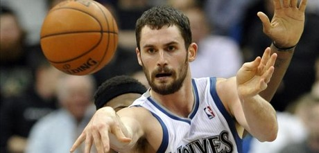 Kevin Love, en accin.