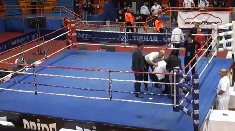 Un boxeador croata, suspendido de por vida tras dar una paliza a un �rbitro en el ring