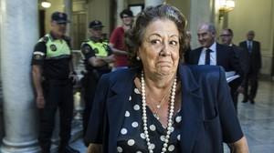 Rita Barberá, el pasado mes de julio.