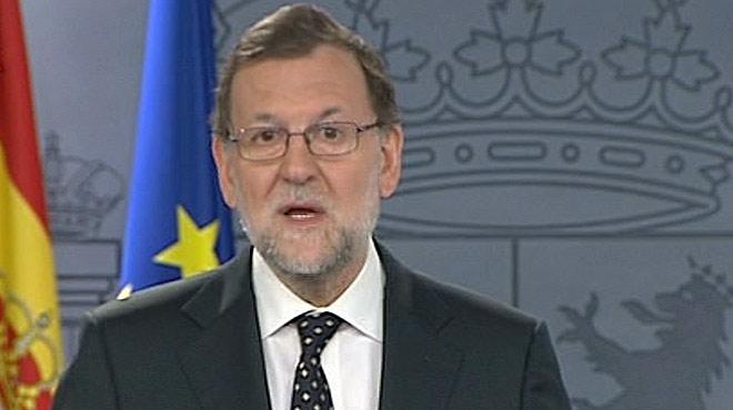 Rajoy comparece para responder al discurso de investidura de Puigdemont