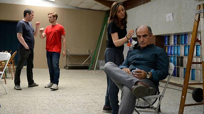 Merlí regresa a las aulas. Rodaje de la segunda temporada de la serie de TV-3