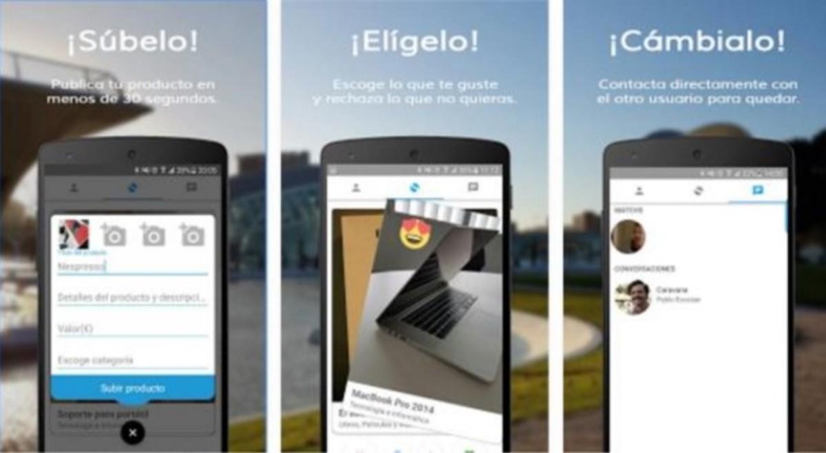 Swapp: la app móvil que permite subir productos para intercambiarlos por otros