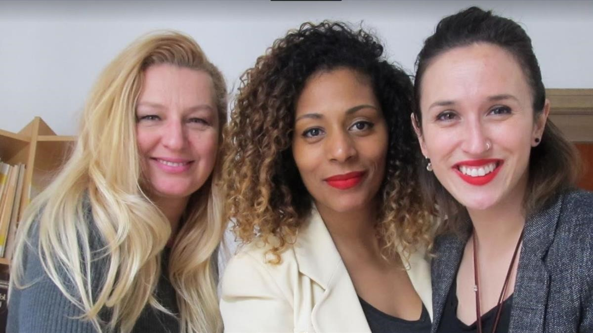 lainz De izquierda a derecha, Nancy de Vries, Arit Balcells y Lara de Castro, fundadoras de Lalo Experience.