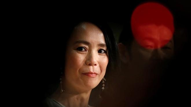 Naomi Kawase, en la presentación de Hacia la luz en el último Festival de Cannes