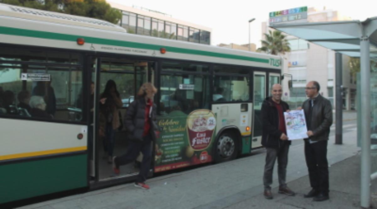 La nueva T-16 permitirá viajar gratis en el transporte público de Sabadell hasta los 16 años.
