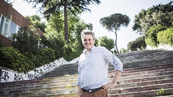 Antonio Manzini, un romano en los Alpes