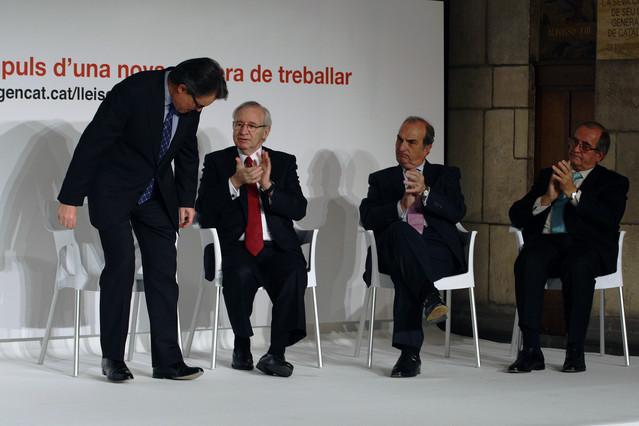 La empresa catalana desconfía de un Gobierno formado por CiU y ERC
