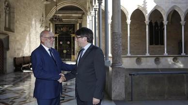 Puigdemont afea al fiscal general del Estado la judicialización del 'procés'