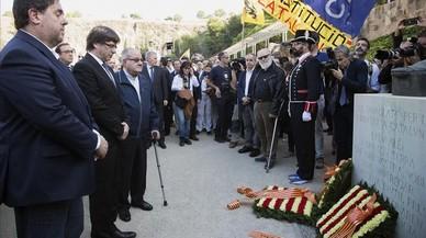 """Puigdemont responderá a Rajoy guiado por la """"firmeza"""" y la """"democracia"""""""
