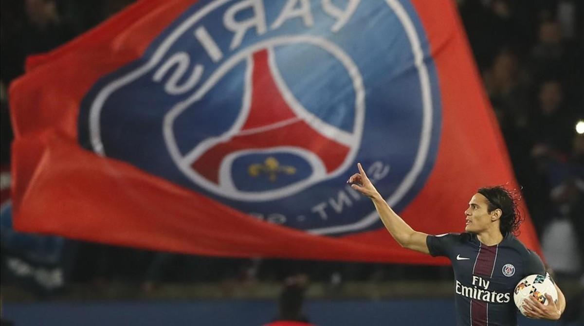 Cavani rescata un punto para el PSG (2-2)