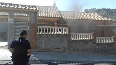 Dues explosions en una casa de Segur de Calafell on es plantava marihuana