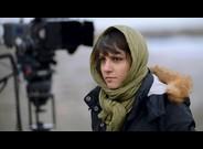 La directora iran� Ida Panahandeh, durante el rodaje de su ple�cula 'Nahid'.