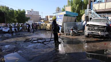 Una terrorista suïcida mata 20 persones en un mercat a l'Iraq