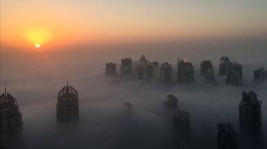 Matí de boira a Dubai.