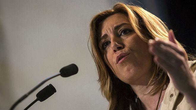 """Susana Díaz: """"Ara que seré mare sé com està de difícil el mercat laboral"""""""