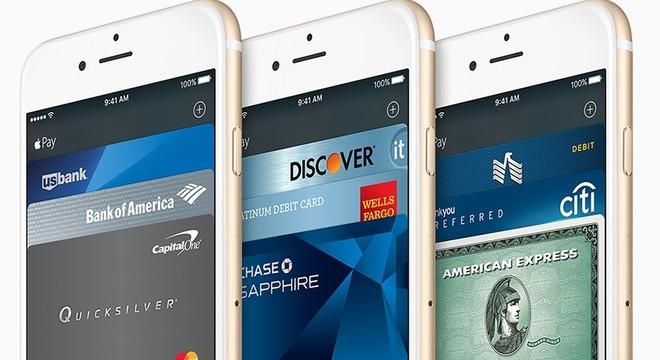 M�viles iPhone con el sistema de pago Apple Pay.