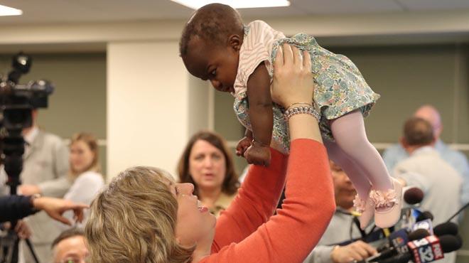 Ha viajado desde Costa de Marfil hasta Estados Unidos para ser intervenida.