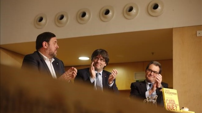 La simbiosis Puigdemont-Mas
