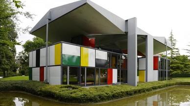El pabell�n Le Corbusier del Museo Heidi Weber, enZ�rich (Suiza) (1967), una de las obras de Le Corbusier declaradas Patrimonio Mundial por la Unesco.