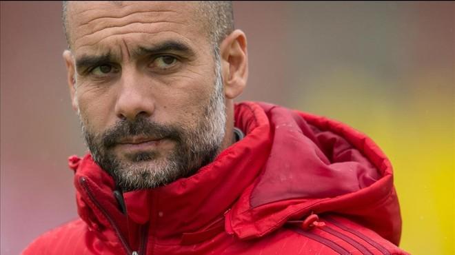 Pep Guardiola, entrenador del Bayern y futuro t�cnico del Manchester City.