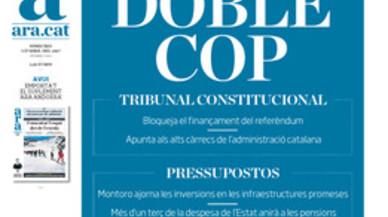 Els diaris catalans es queden sols lamentant que no arribin les inversions