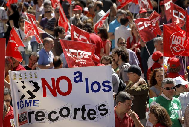 El Gobierno vuelve a congelar los sueldos de los funcionarios en el 2013