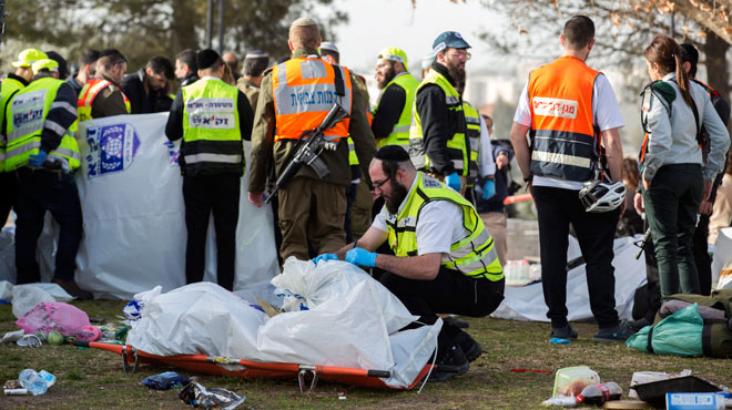 Un camió mata quatre israelians en un atemptat a Jerusalem