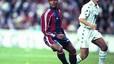 Histórico. Romario, en el partido del 8 de enero de 1995. El brasileño marcó en la histórica goleada al Madrid (5-0).