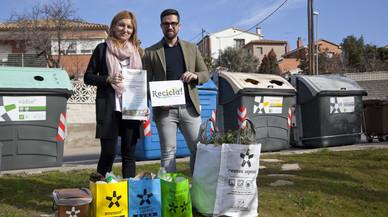 'Recicla! Posa colors a la ciutat': així fomenta Rubí el reciclatge