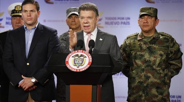 El Gobierno de Colombia y la guerrilla del ELN acuerdan inciar el diálogo de paz