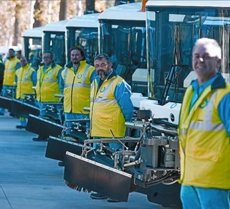 Badalona cambiará los vehículos de limpieza con la nueva contrata
