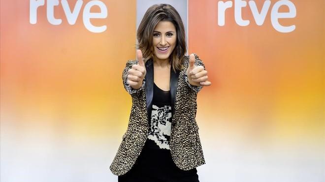 Barei representarà TVE en el Festival d'Eurovisió amb una cançó amb tocs 'soul'