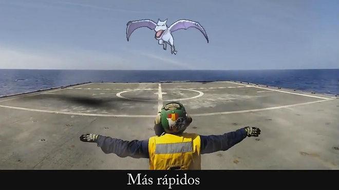 La Armada española recurre a Pokémon para conseguir nuevos reclutas