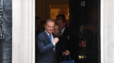 May repeteix a Tusk que la sobirania de Gibraltar no és negociable
