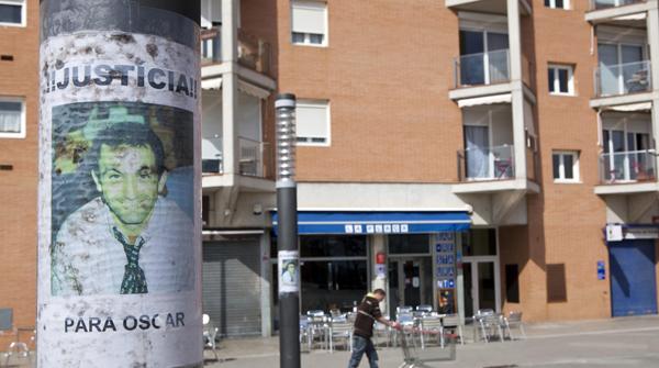 Los vecinos de Montgat (Maresme) esperan la absolución de Óscar Sánchez.
