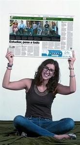 NATÀLIA PELEGRÍN. ESTUDIANT DE PSICOLOGIA. 18 ANYS.