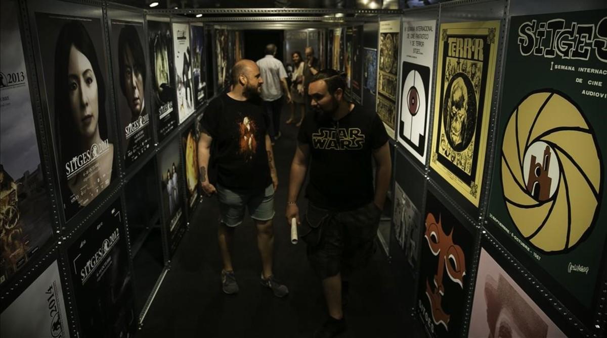 Exposición El cinema es fantàstic en la Filmoteca de Catalunya.